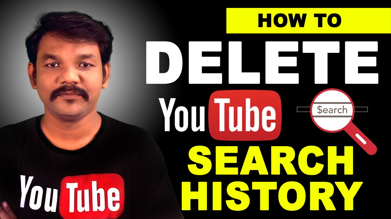 How To Delete Your YouTube Search History In Tamil